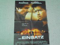 Al Pacino, Der Einsatz - Original Filmplakat A1
