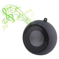Mini Portable 3.5 mm Jack Hamburger Sound Loud Speaker For Phone iphone Tablet