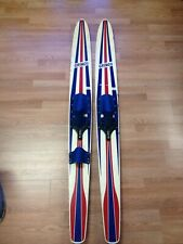 New listing Vintage Amf Voit Gringo red white blue water skis- rare