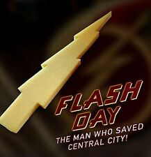(CW Flash TV Series) FLASH DAY Foam Lighting Bolts (Television Prop Replica)
