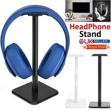 HEADPHONE HOLDER STAND HANGER HEADSET DESK DISPLAY UNIVERSAL GAMING ALUMINIUM
