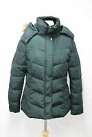HOBBS Livia Ladies Forest Green Padded Hooded Zip Up Puffer Jacket UK14 NEW