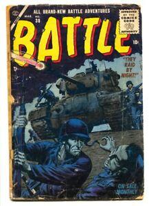 Battle #38 - 1955 - Atlas - G- - comic book