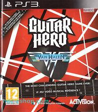 Guitar Hero: Van Halen Sony Playstation 3 PS3 12+ Music Game