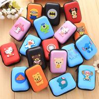 Womens Kids Girls Boys Cute Cartoon Mini HandBag Coin Purse Wallet Headset Bags