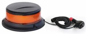 GIROFARO MINI A LED 12-24V BASE MAGNETICA 18 LED LAMPEGGIANTE BASSO MULETTO