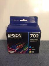 NEW Epson 702 Tri Color C-Y-M Printer Ink Cartridge