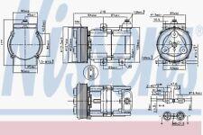Nissens Air-con Compressor - 890081