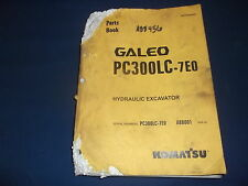 KOMATSU PC300LC-7EO EXCAVATOR PARTS BOOK MANUAL S/N A88001-UP