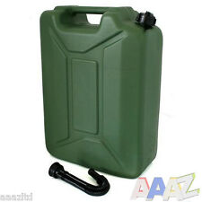 20L Litre Jerry Can Petrol Diesel Canister Fuel Storage Container & Spout