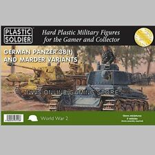 15mm WW2 15mm Panzer 38(t) and Marder Variants X5  PLASTIC SOLDIER COMPANY - NEW
