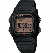 Casio W800HG-9AV, Digital Watch, Resin Band, Stopwatch, Alarm, 10 Year Battery
