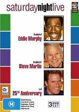 Saturday Night Live Eddie Murphy Steve Martin 3-Disc Set Region 4 DVD VGC
