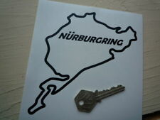 NURBURGRING Classic Cut Out Style Car or Motorcycle STICKER Race Circuit Bike