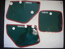 Number Backgrounds YZ250 1986-1987 GREEN YZ 250