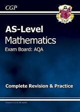 AS Maths AQA Complete Revision and Practice by CGP Books (Paperback, 2011)