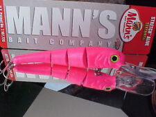 Mann's TSA6 Textured Stretch Alive Bigfish Trolling Lure in Color PINK