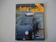 AUTOCAPITAL 12/1992 MG RV8/PORSCHE 911 TURBO/LANCIA DELTA INTEGRALE/FERRARI 500