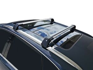 Alloy Roof Rack Cross Bar for Audi Q5 2008-16 With Flush Rails Lockable