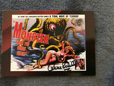 MOVIE POSTERS 2007 SCI-FI & HORROR Breygent Autographed Anne Kimball