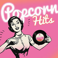 CD Popcorn Hits von Various Artists 2CDs