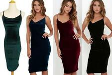 Unbranded Velvet Dresses Bodycon Dress