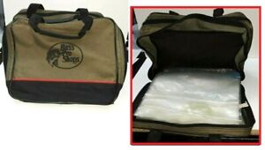 Pro Bass Shops Extreme 2-Side Binder Worm Tackle Carry Case Fishing Inserts