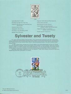 1998 FDI, SYLVESTER & TWEETY, SOUVENIR PAGE
