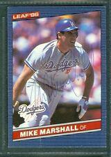 Mike Marshall Baseball Auto 1986 Leaf '86 Signature Autograph Signed Card #40