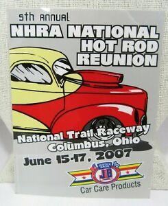 2007 NHRA Hot Rod Reunion Decal Beech Bend Raceway Bowling Green Kentucky