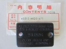 Honda XR 600 RD HAUPTBREMSZYLINDERKAPPE 45513-MG3-671 /