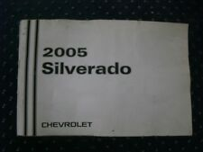 2005 silverado chevrolet OWNERS MANUAL #154