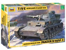 ZVEZDA 3641 GERMAN MEDIUM TANK PANZER IV AUSF.E SCALE MODEL KIT 1/35 NEW