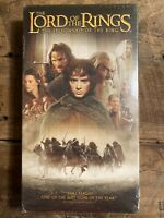 Lord of the Rings Fellowship of the Ring VHS - Brand New Sealed