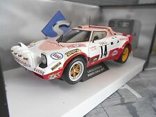 LANCIA Stratos HF Rallye Monte Carlo 1980 #14 Dacremont Aseptogyl Solido 1:18