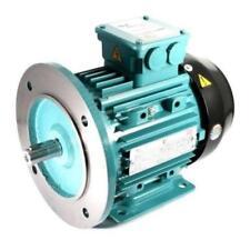 Electric Motor AL 3 Phase 0.37kW 0.5HP 4 Pole 1400 RPM 71 Frame B35 IE2