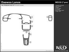 Dash Trim Kit for DAEWOO LANOS 99 00 01 02 carbon fiber wood aluminum