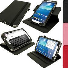 Schwarz PU Leder Hülle Case für Samsung Galaxy Tab 3 8.0 T310 T311 T315 Cover 3G