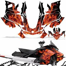 Ski-Doo 850 Renegade Summit Decal Graphic Kit Sled G4 Snowmobile Wrap ICE ORANGE