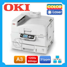 OKI C910n A3 Color Laser Network Graphics Printer+Parallel Port+3-Yr (RRP$6599)
