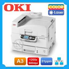 OKI C910n A3 Color Laser Network Graphics Printer+Parallel Port*Ex-Display Unit*