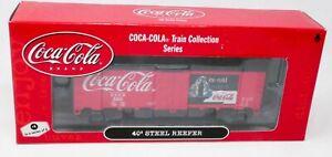 ATHEARN RTR 8323 HO Coca-Cola Coke #4- 40' Steel Reefer Car NIB Knuckle Couplers