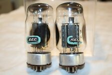 Vintage Pair GEC KT88 6550 Vacuum Tube 3 Getters Strong Tested