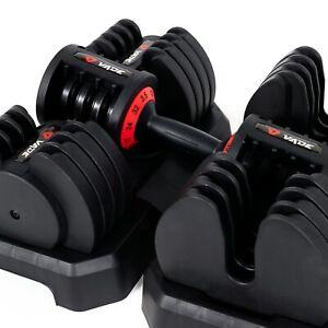 Vade Sport 32kg Adjustable Dumbbells Fast Adjust 4-32KG Set - 64KG TOTAL 💪