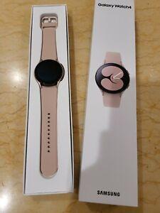 Brand New - Open Box Samsung Galaxy Watch4 Pink Gold , Bluetooth 40 mm