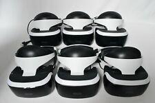 Sony PlayStation VR PSVR Headset Job Lot Bundle x6, V1 + V2 - For Spares/Repairs