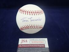 "Tommy ""Tom"" Lasorda LA Dodgers Signed OML Baseball - JSA WPP655563"