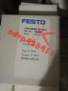 1PCS NEW FESTO CPE14-M1BH-3GL-QS-8 196888 Solenoid Valve