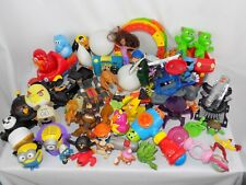 Lot of 50+ Vintage Toys Cars Action figure Angry Bird Panda Gremlin Smurf Minion