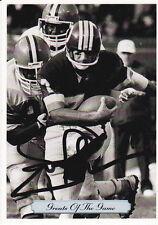 JOE THEISMANN SIGNED 92 AW SPORTS GOTG CFL FOOTBALL CARD REDSKINS